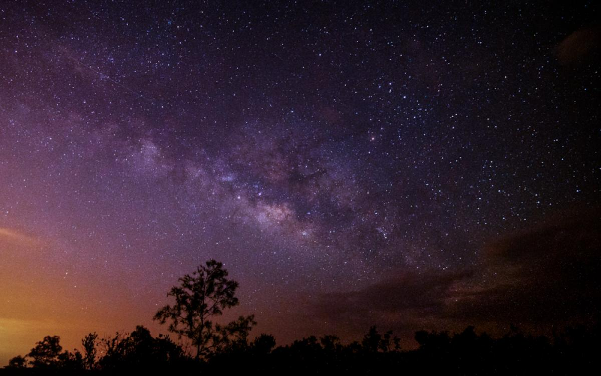 Milky Way After a Storm
